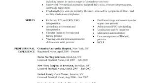 Nursing Graduate Resume Sample Resume Examples For Nursing Students ...