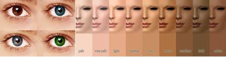 makeup colors for um skin tone color when it es to the color of your eyes
