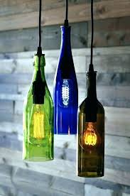 wine bottle chandelier chandeliers light using plastic bottles lamps made from beer making hanging wine bottle chandelier