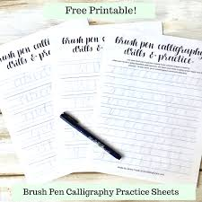 Free Printable Calligraphy Worksheets Worksheets for all ...