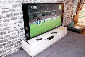 sony tv with speakers on side. sony kd-65x9005b review: a high end, highly anticipated 4k tv tv with speakers on side