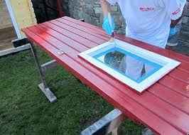 Muss vor dem neuen anstrich erst noch eine alte farbschicht abgetragen werden, verwenden sie dazu einen schwingschleifer (für große. Gartenhaus Deckend Streichen
