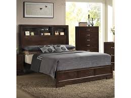 Bookcase Bedroom Furniture Lifestyle Bookie Contemporary Queen Bookcase Bed With 4 Shelves