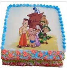 Cake For Kids Chhota Bheem Cake Design Manufacturer From Noida