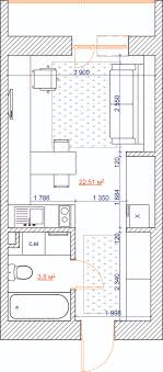 Small Picture 4 Inspiring Home Designs Under 300 Square Feet With Floor Plans