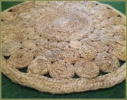 world market round jute rug
