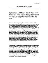 explore how act scene of shakespeares romeo and juliet is  page 1 zoom in