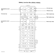 ecm relay where is the ecm wiring relay located on 2005 mercury 2002 mercury sable ls fuse box diagram at 2002 Sable Fuse And Relay Diagram