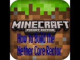 Nether Core Reactor Pattern Stunning How To Do The Nether Core Reactor Pattern In MineCraft PE 4848 YouTube