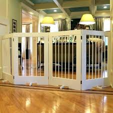 pet door gates indoor dog gate with door gates for pets 4 panel tall pet gate pet door