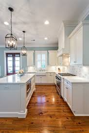 pictures of kitchen lighting ideas. Small White Kitchen Lighting Ideas With Brown Floor Pictures Of