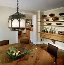 Staggering Floating Shelves Decorating Ideas for Dining Room Farmhouse design  ideas with Staggering art arrangement buffet