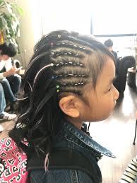 子供 ミディアム ストリート コーンロウart To Hair 白井香織 372107
