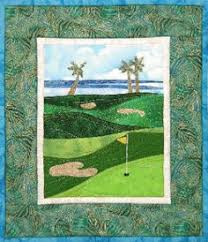Golf Anyone? Pieced Quilt Pattern by Cynthia England at England ... & Golf Courses - Accidental Landscapes #8 by The Quilted Lizard at  KayeWood.com. Adamdwight.com