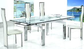 extendable glass table extendable glass dining table sets posh glass table will make room look more extendable glass table