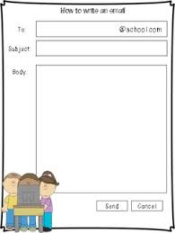 Free Templates For Kids Email Template For Kids By Adrienne Jackson Teachers Pay Teachers