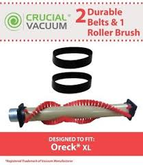 oreck xl parts oreck xl roller brush 2 belts part 016 1152 75202 01