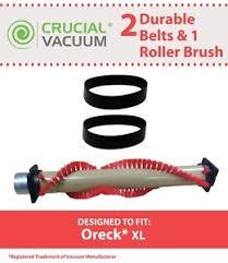 oreck xl parts oreck xl roller brush 2 belts part 016 1152 75202 01