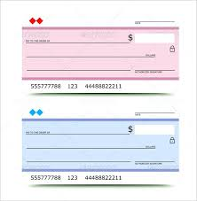 Blank Cheque Template Impressive Blank Check Sample Mock Checkbook Template Monster Coupon Updrillco