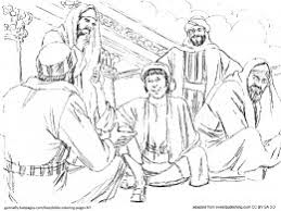 Small Picture Bible Coloring Pages New Testament Bible
