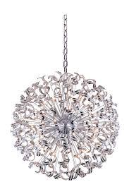 2068 tiffany collection chandelier d 54in h 54in lt 45 chrome finish elegant cut crystals v2068g54c ec elite fixtures