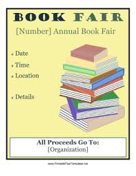 examples of book flyers book_fair_flyer png