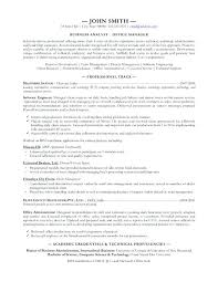 It Analyst Resumes It Analyst Resume It Business Analyst Resume Best Of Business