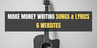Writing song lyrics is, somehow, the best and worst part about being a musician, depending on how things are going for you that day. Make Money Writing Songs And Lyrics 6 Websites That Pay