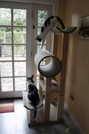 image of easy diy cat tree design