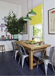 round farmhouse table and tolix chairs farmhouse table tolix chairs cute ls and kitchen diningkitchen decordining areadining