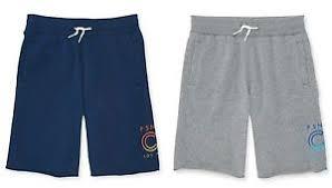 Details About P S Kids Aero Aeropostale Boys Athletic Gym Fleece Jogger Shorts Size 5 7 8 New