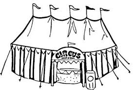 Small Picture Circus Tent Coloring Pictures Coloring Pages Ideas