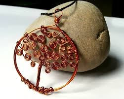 free tutorial with pictures on how to make a wire wrapped