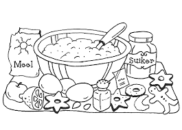 Small Picture Coloring Page Kitchen and cooking coloring pages 9