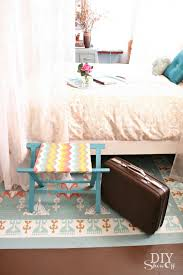 Luggage Racks For Guest Rooms Amazing DIY Luggage Rack And Sprucing Up The Guest Room DIY Show Off