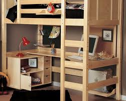 Superb ... Full Size Loft Bed With Desk For Adults 14