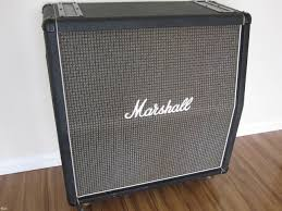 1974 VINTAGE MARSHALL 4x12 CELESTION PULSONIC G12M CAB > Speaker ...