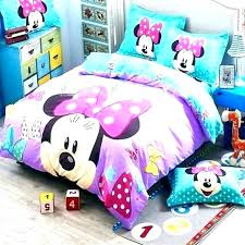 minnie mouse bed set full – Rizal