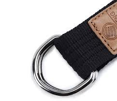 Best YBT <b>Unisex canvas belt</b> Double ring buckle military <b>belt</b> Army ...