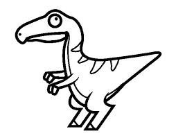Small Picture Baby velociraptor coloring page Coloringcrewcom