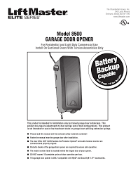 Light Duty Commercial Garage Door Opener Manual Assurance Overhead Doors Of Tulsa Manualzz Com