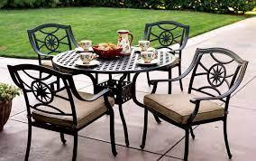patio furniture cast aluminum dining