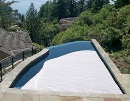 pool covers for irregular shaped pools. Simple Irregular The Irregular Shape Of This Pool Provides Intriguing Visuals But Also  Meant A Standard Cover Was Out The Question Wanting To Still Enjoy Benefits  In Pool Covers For Irregular Shaped Pools R
