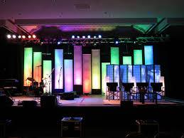 Church Stage Design Ideas dot banners church stage design ideas