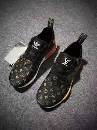 louis vuitton x adidas. supreme x lv adidas nmds monogram brown -yeezy boostv2-ua-hypebeast- louis vuitton