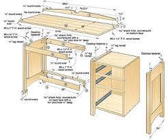 Woodworking Wide Variety Of Computer Desk Blueprints Types The Victoria And  Surrounding In Installing Apparently Sitting