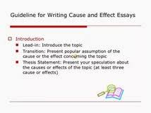 cause and effect essays examples writing a cause and effect essay  cause effect essay writing rubric fall writing cause and effect cause effect essay examples and samples