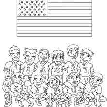 Small Picture Team of spain coloring pages Hellokidscom