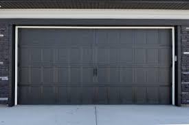 E Black Garage Door