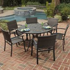 round slate patio table image collections table decoration ideas 27 splendi round slate patio table image